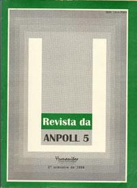 "Visualizar v. 2 n. 5 (1998): Revista Anpoll 05: ""Gramática e Poesia"""